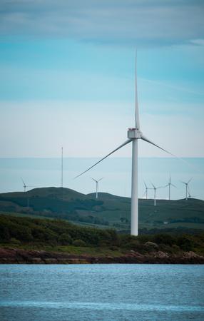 Foto de Wind Turbines In the West of Scotland - Imagen libre de derechos