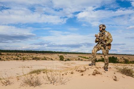 Foto de Green Berets US Army Special Forces Group soldier - Imagen libre de derechos