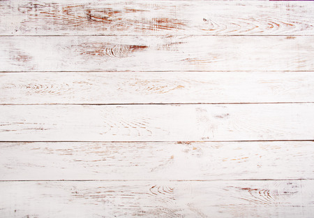 Photo pour White and brown rustic wood background texture - image libre de droit