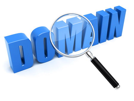 Photo for Domain name search concept - Royalty Free Image