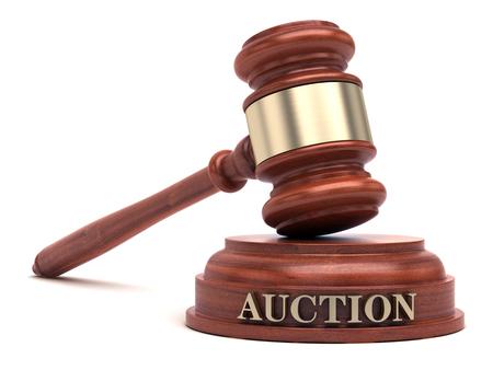Foto de Auction bidding - Imagen libre de derechos