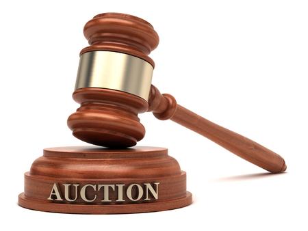 Foto de Auction Gavel  Public Sale - Imagen libre de derechos