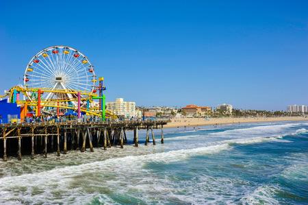 Photo for Santa Monica Pier - Royalty Free Image
