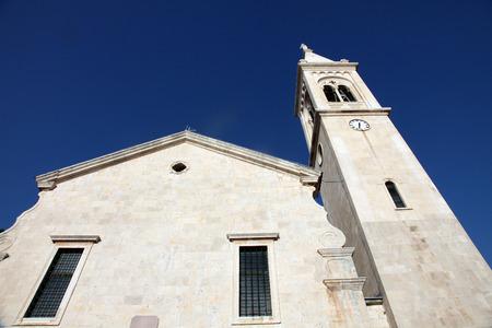 The Catholic Church Saint Eustache in Dobrota, Montenegro, on June 09, 2009