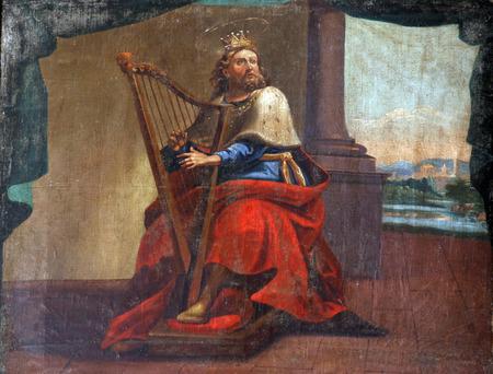 Foto de King David - Imagen libre de derechos