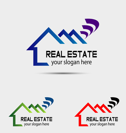 Ilustración de Vector of house logo - Imagen libre de derechos