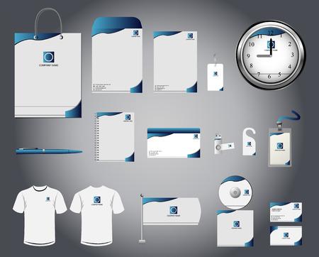 Foto de Corporate identity template - Imagen libre de derechos