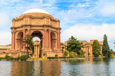 Photo pour San Francisco, Exploratorium and Palace of Fine Art, California - image libre de droit