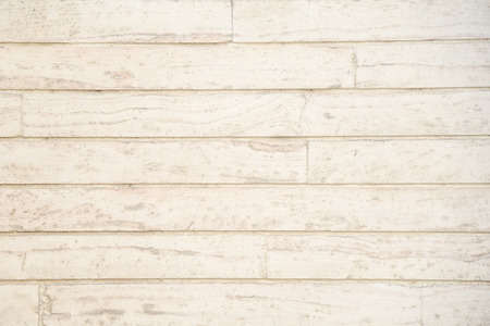 Foto per Old grunge light beige wood plank pattern with beautiful abstract grain surface, use for texture finishing, vintage background or backdrop panel - Immagine Royalty Free