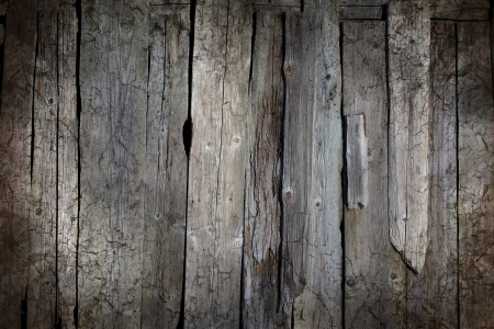 Grunge grey wooden background