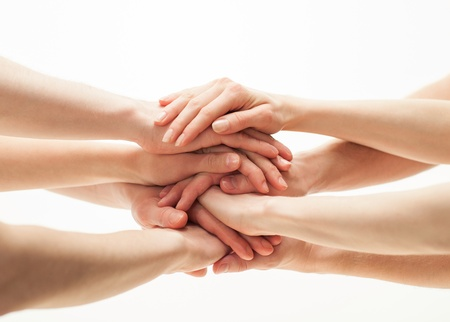 Photo for Hands group - Royalty Free Image