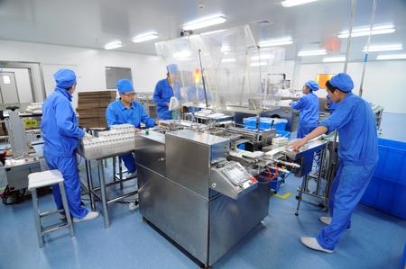 Foto de Pharmaceutical plant - Imagen libre de derechos