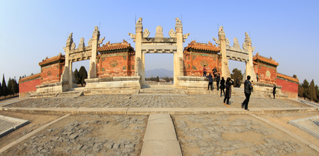Photo for Traditional Chinese architectural landscape - Royalty Free Image