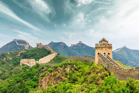 Photo for The Great Wall of China at Jinshanling - Royalty Free Image
