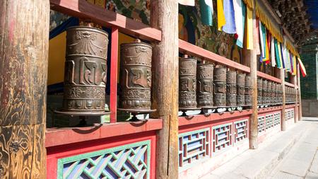Photo pour China Qinghai Xining Tar Temple scenery. - image libre de droit