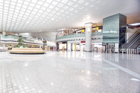 Photo pour interior of shoppingmall - image libre de droit
