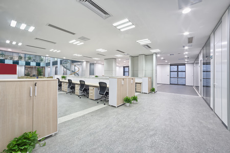 Foto de modern office room interior - Imagen libre de derechos