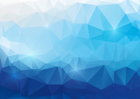 Illustration pour Vector abstract polygonal background - image libre de droit