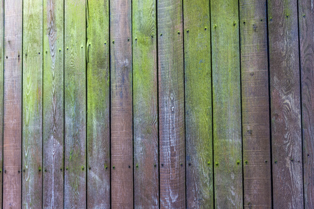Photo for background of old retro vintage aged Wooden texture Old wooden fence. - Royalty Free Image