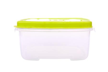 Foto de Plastic Food Box Container - Imagen libre de derechos