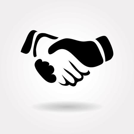 Ilustración de handshake icon - Imagen libre de derechos