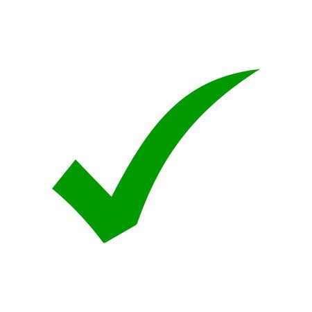 Illustration pour check icon vector. check mark icon. check list button icon - image libre de droit