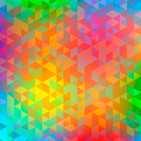 Photo pour Abstract triangle blur multicolor background. Ideal for gadgets backdrop or presentations, flayers and posters. - image libre de droit
