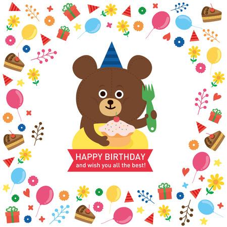 Ilustración de bear - Imagen libre de derechos