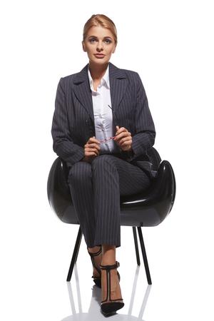 Foto de Business woman portrait - Imagen libre de derechos