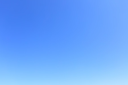 Foto de Clear cloudless blue sky, may be used as background - Imagen libre de derechos