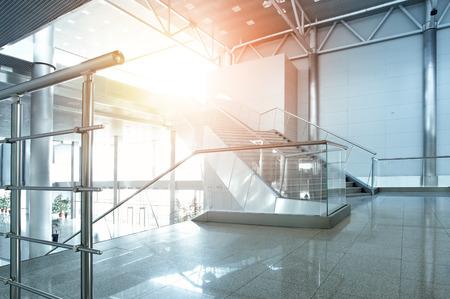 Foto de Interior of modern office building - Imagen libre de derechos