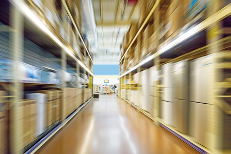 Photo for warehouse interior - Royalty Free Image