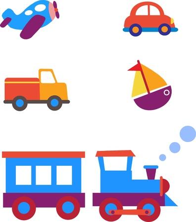 toy transportation set