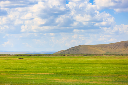 Photo pour Inner Mongolia Hulun Buir beautiful scenery - image libre de droit