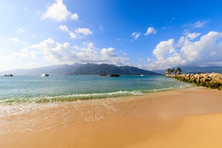 Photo pour Hainan beach, China - image libre de droit