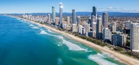 Foto de Sunny view of Gold Coast, Queensland, Australia - Imagen libre de derechos