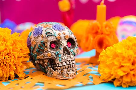 Photo pour Day of the dead celebration - image libre de droit