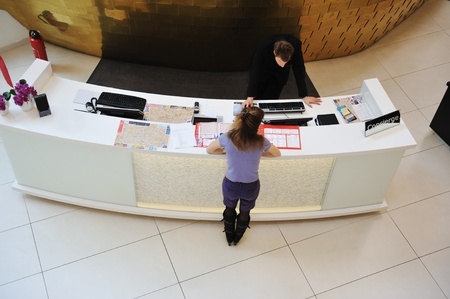Photo for Reception desk - Royalty Free Image