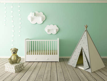 Photo for children room interior - Royalty Free Image