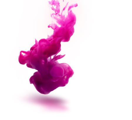 Foto de pink ink underwater as abstract background for your project - Imagen libre de derechos
