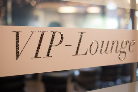 Photo for Vip lounge invitation for the club members - Royalty Free Image